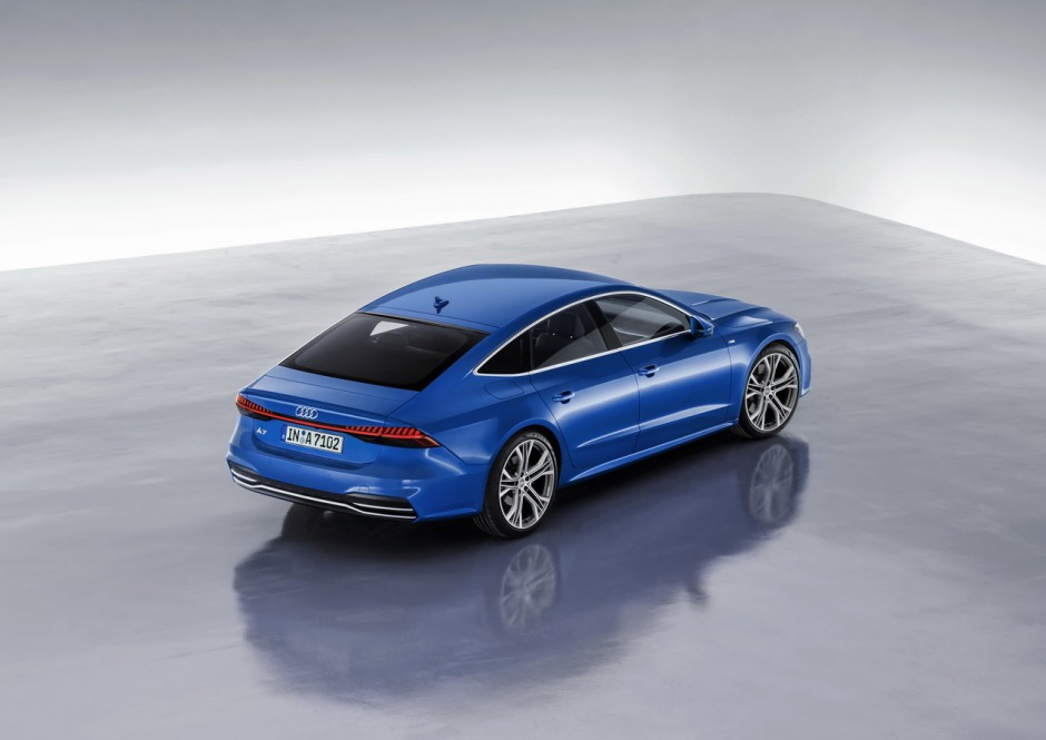 audi a7 sportback 2018 toutes les infos et photos officielles photo 15 l 39 argus. Black Bedroom Furniture Sets. Home Design Ideas