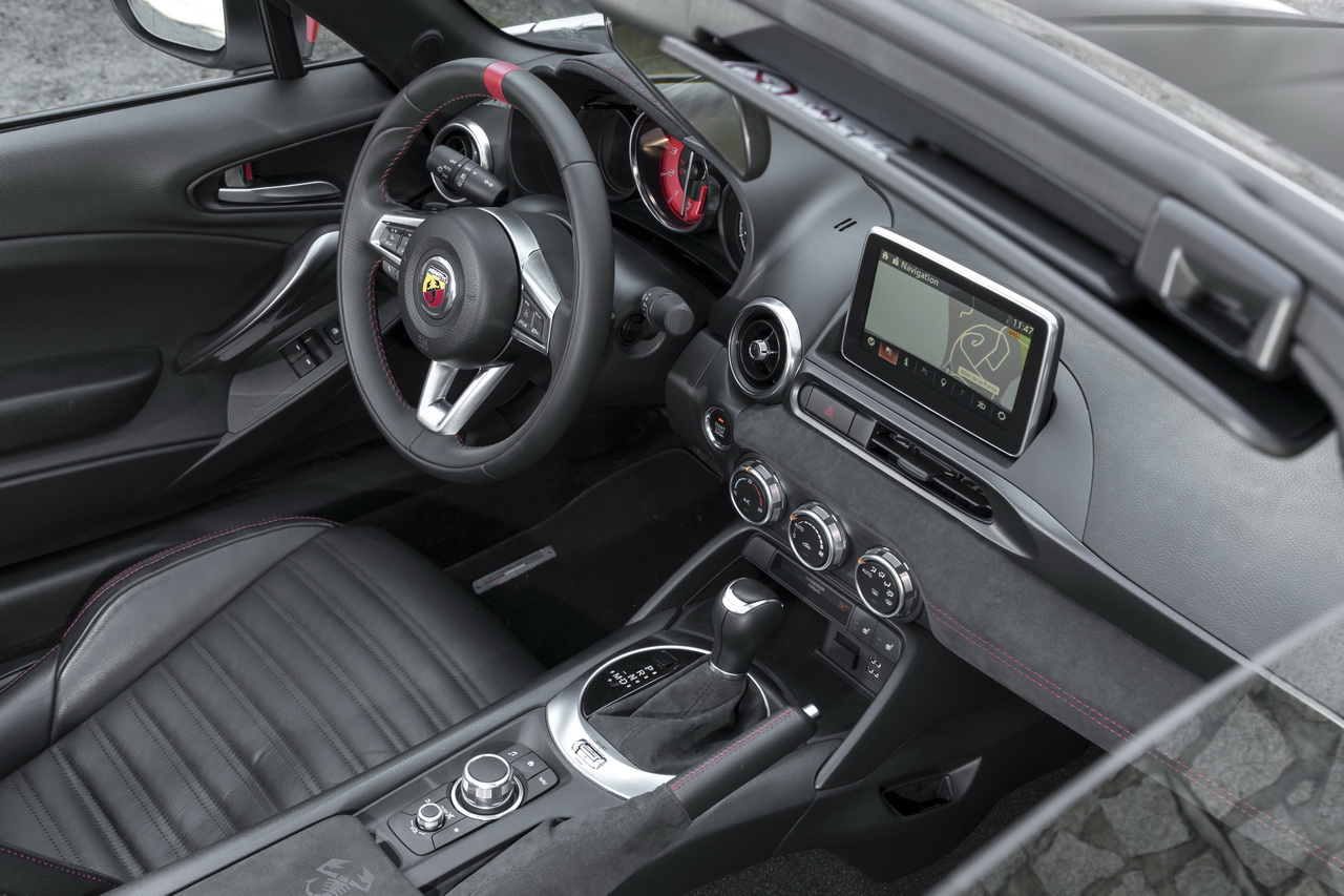 essai abarth 124 spider notre avis sur la bo te automatique photo 30 l 39 argus. Black Bedroom Furniture Sets. Home Design Ideas