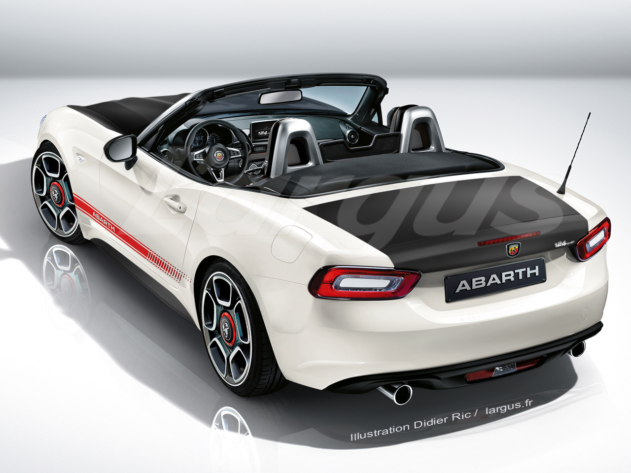abarth 124 spider 2017 un nouveau roadster abarth photo 1 l 39 argus. Black Bedroom Furniture Sets. Home Design Ideas