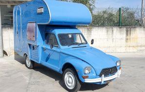 Citroën Acadiane camping avant droit
