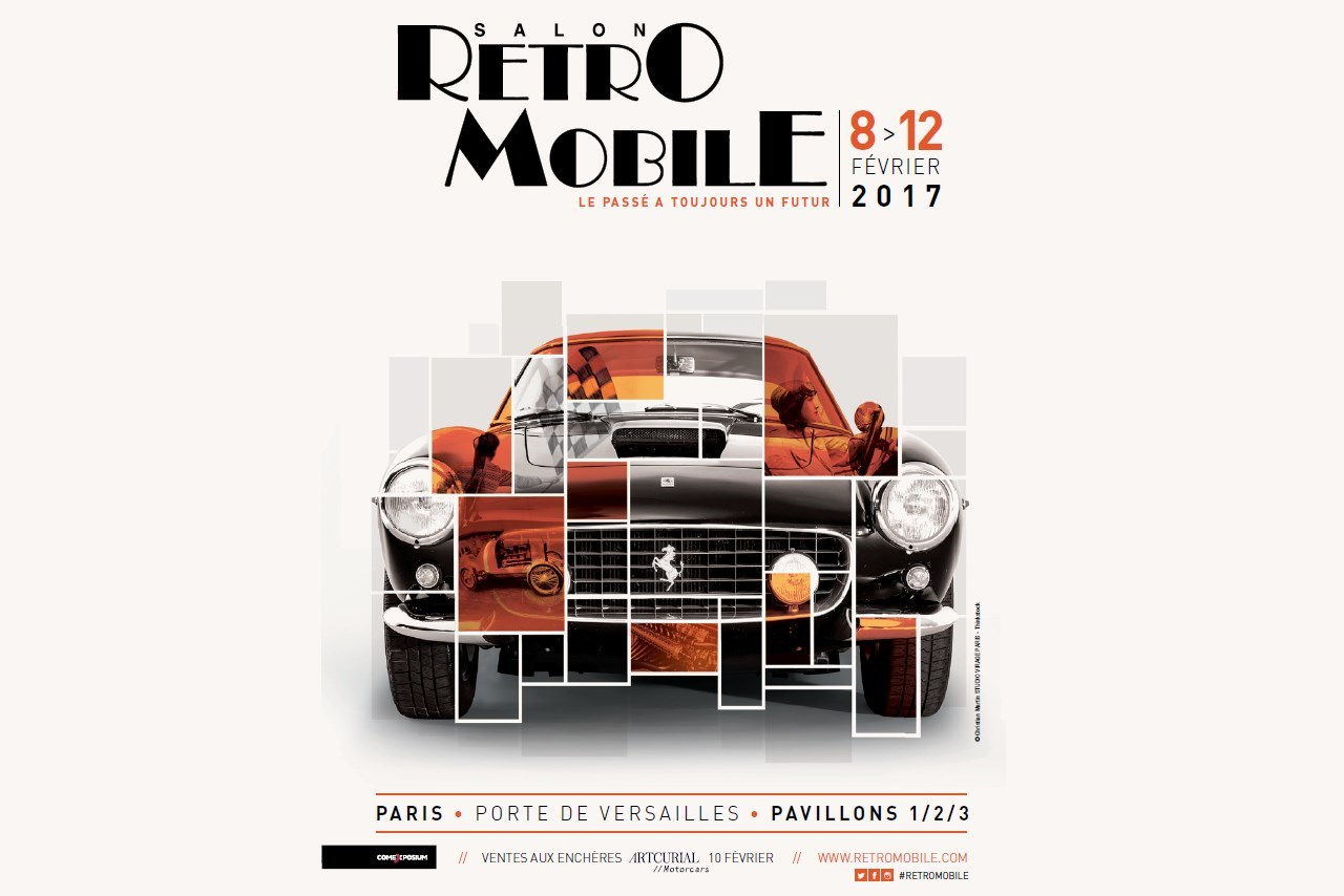 R tromobile 2017 du 8 au 12 f vrier toutes les infos for Salon airsoft 2017 paris