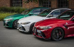 Alfa Romeo Giulia tricolore