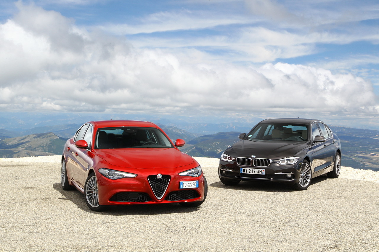 essai alfa romeo giulia vs bmw s rie 3 choc au sommet photo 8 l 39 argus. Black Bedroom Furniture Sets. Home Design Ideas