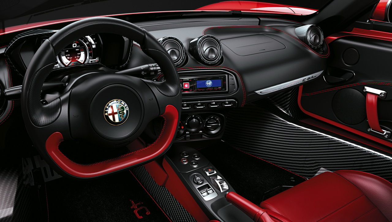 tarifs alfa romeo 4c les prix du spider et du coup 2015. Black Bedroom Furniture Sets. Home Design Ideas