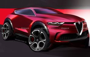 alfa romeo suv urbain 2023 illustration