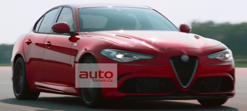 alfa romeo giulia 2016 premi res photos et vid o l 39 argus. Black Bedroom Furniture Sets. Home Design Ideas