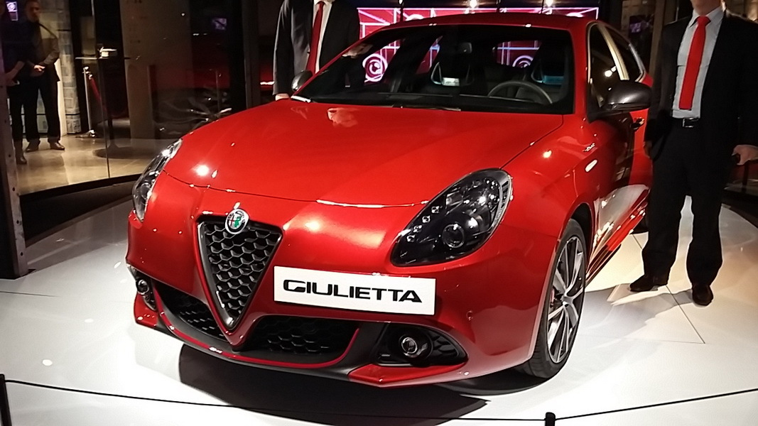 2016 alfa romeo giulietta restyl e page 6. Black Bedroom Furniture Sets. Home Design Ideas
