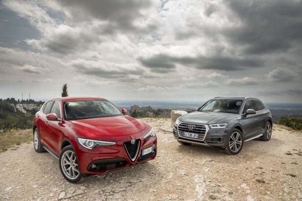 essai comparatif l 39 alfa romeo stelvio d fie l 39 audi q5 l 39 argus. Black Bedroom Furniture Sets. Home Design Ideas