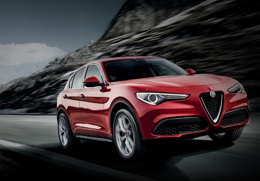 en images les 100 stars de 2017 alfa romeo stelvio first edition commercialisation en mars. Black Bedroom Furniture Sets. Home Design Ideas