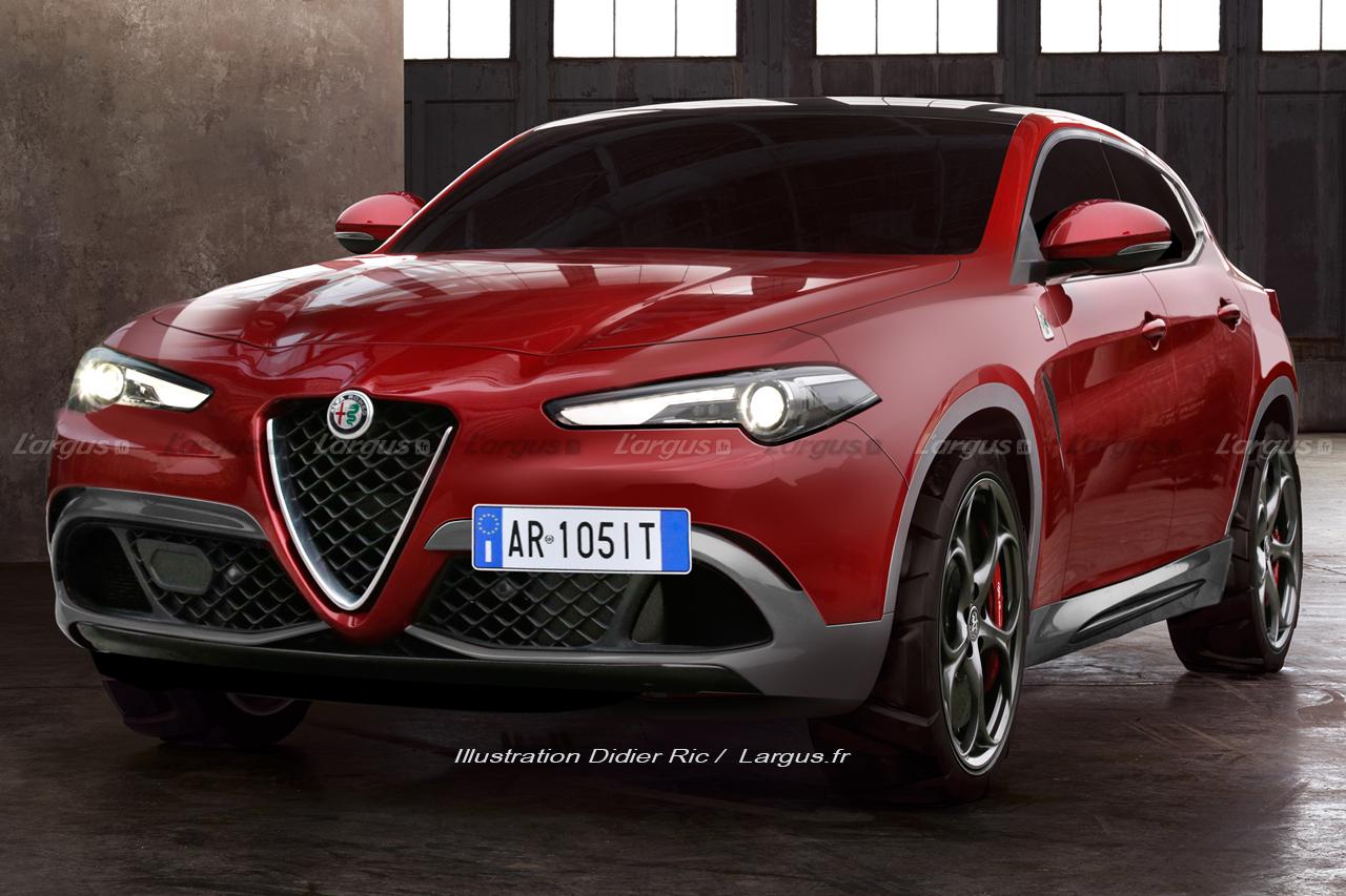 Alfa Romeo Tonale : la surprise du salon de Genève 2019 ...
