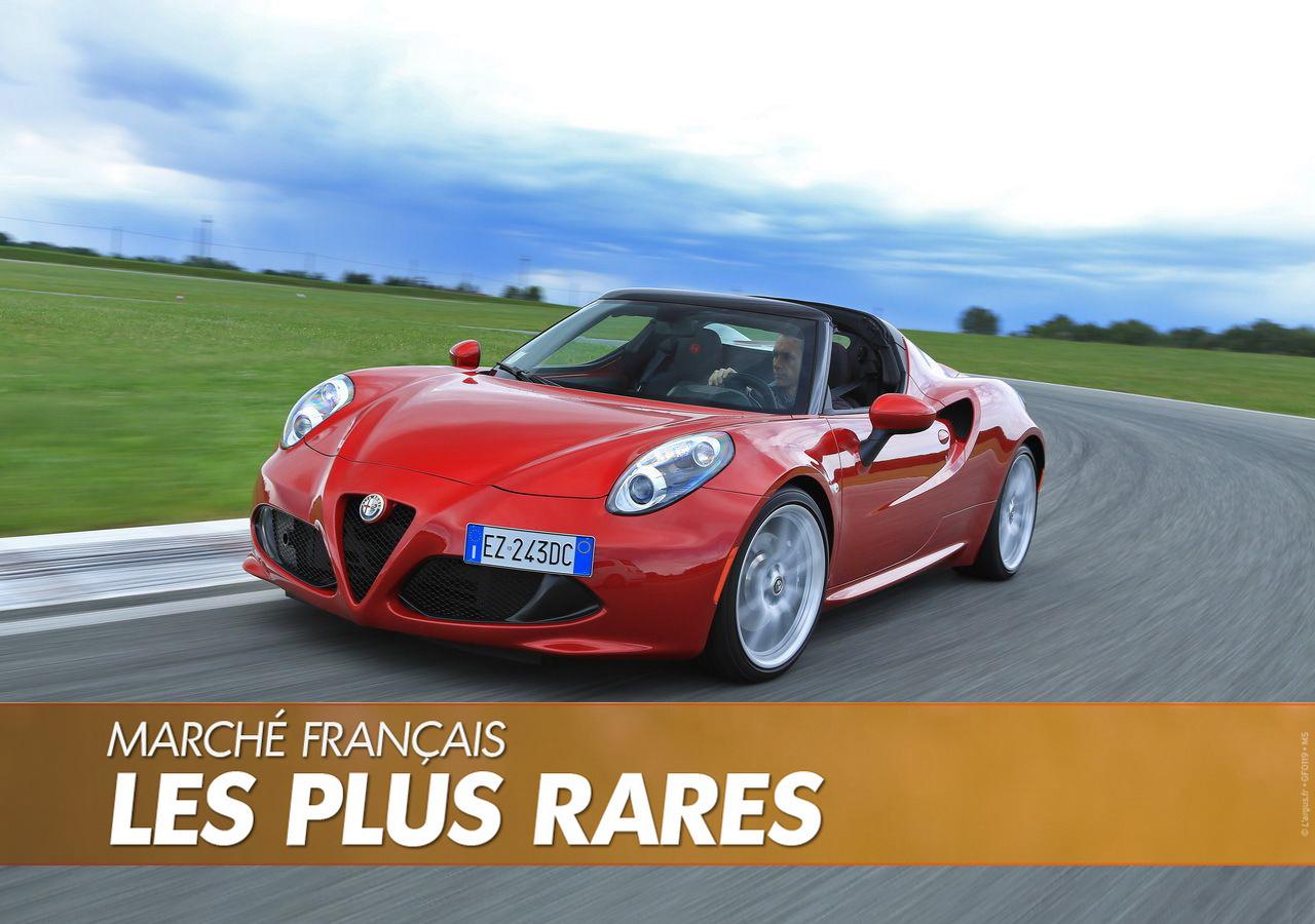 Les voitures vendues à 3 exemplaires (maxi !) en 2019 en France