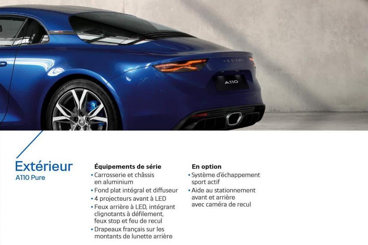 Polo 2018 Essai >> Alpine A110 (2018) : deux versions Pure et Légende au catalogue - Photo #4 - L'argus