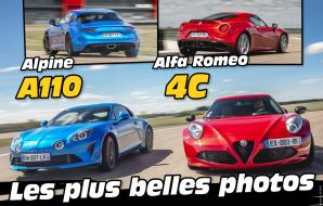 Couverture diaporama match Alpine A110 vs Alfa Romeo 4C