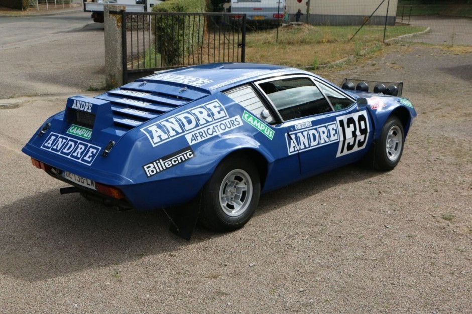 l 39 unique alpine a310 du dakar vendre aux ench res photo 3 l 39 argus. Black Bedroom Furniture Sets. Home Design Ideas