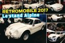 alpine rétromobile 2017