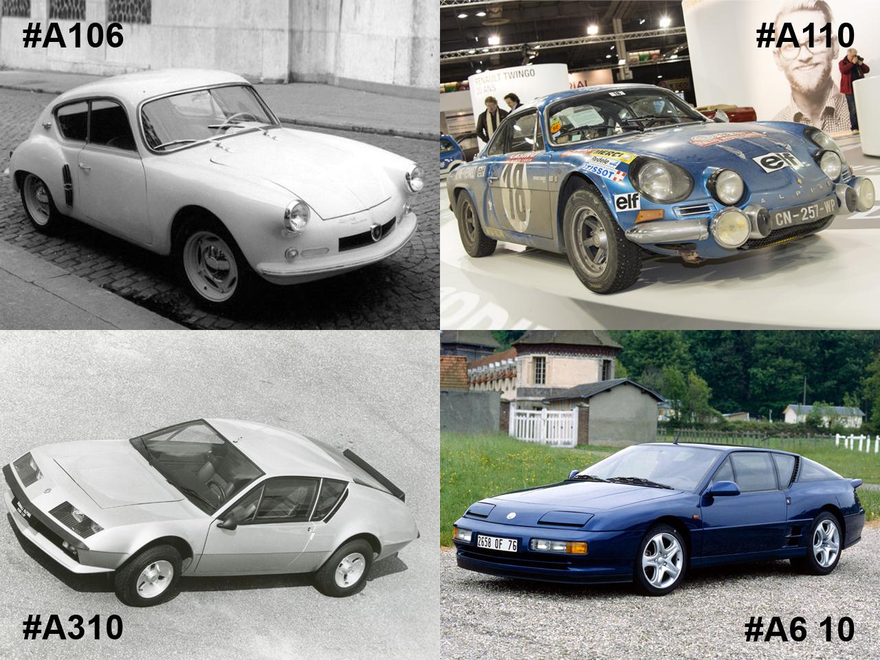 alpine 60 ans de passion automobile l 39 argus. Black Bedroom Furniture Sets. Home Design Ideas