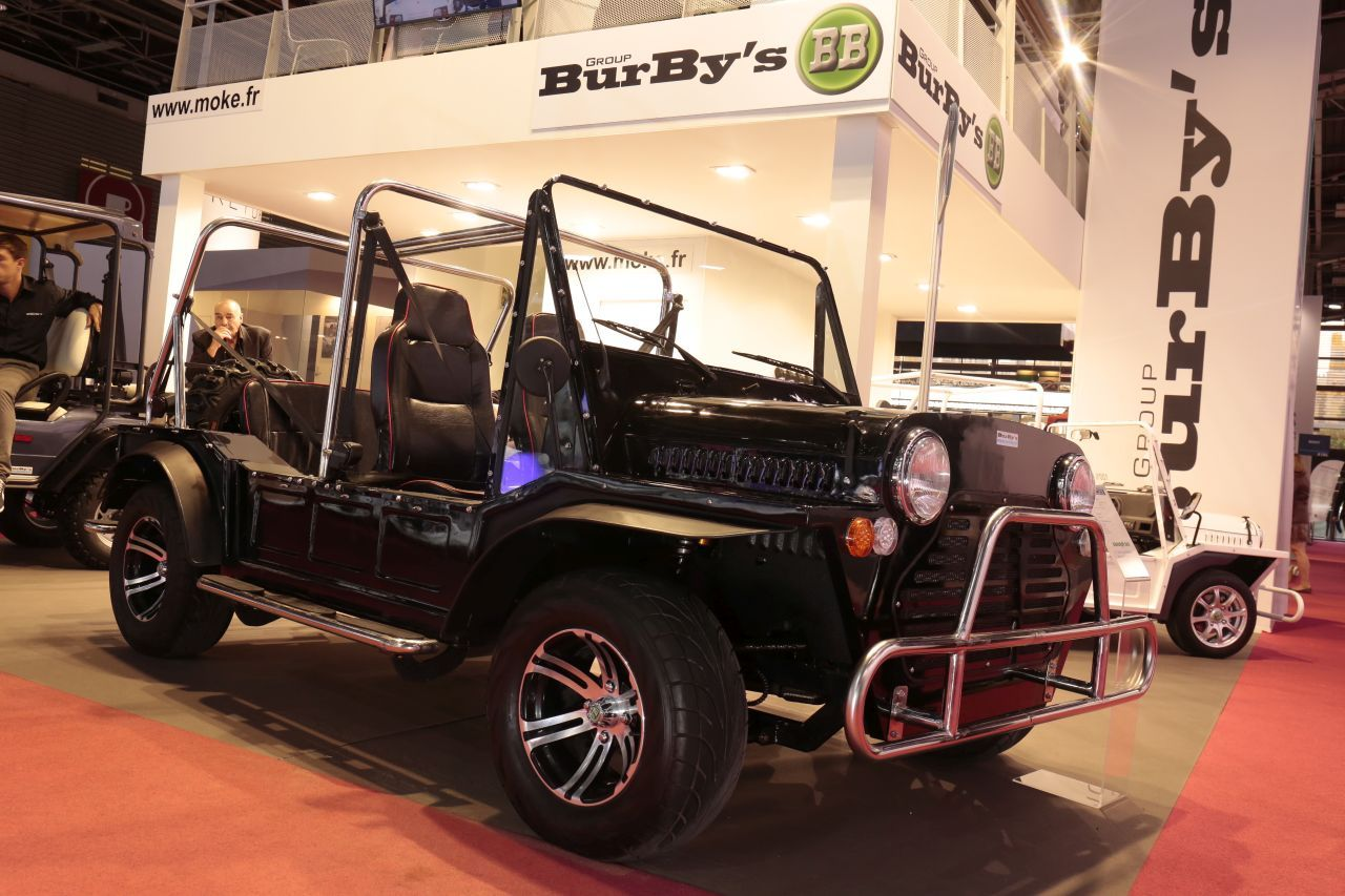 burby 39 s jumboke une mini moke lectrifi e format xxl l. Black Bedroom Furniture Sets. Home Design Ideas