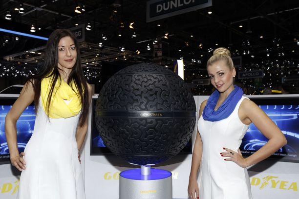 Goodyear Eagle-360 au salon de geneve