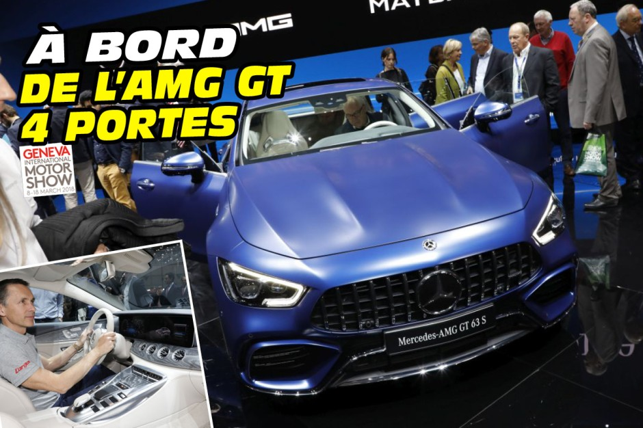 a bord de l 39 amg gt 4 portes sp cial images photo 1 l 39 argus. Black Bedroom Furniture Sets. Home Design Ideas