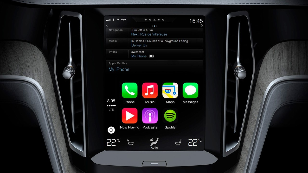 apple carplay ou google android auto il va falloir choisir l 39 argus. Black Bedroom Furniture Sets. Home Design Ideas
