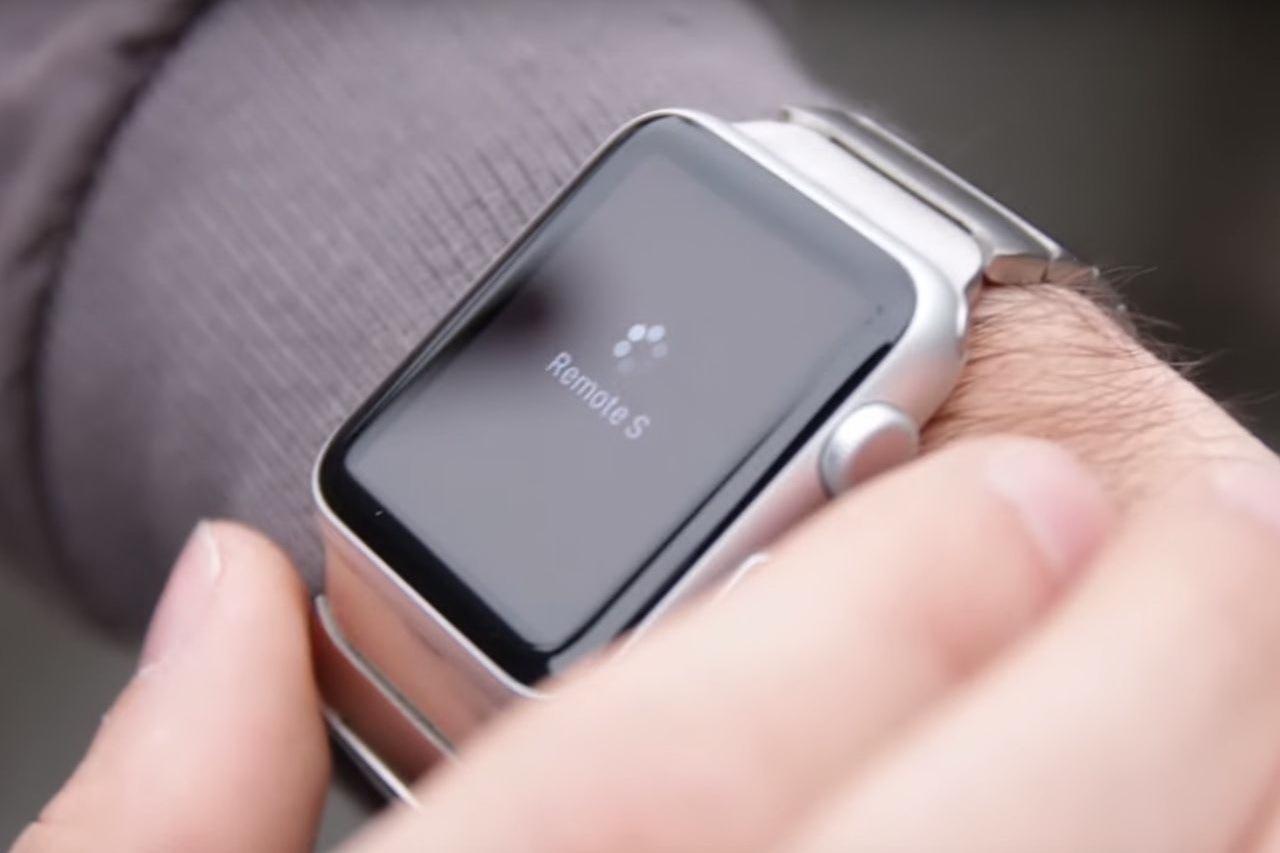 notre test vid o de l 39 application remote s for tesla sur apple watch photo 1 l 39 argus. Black Bedroom Furniture Sets. Home Design Ideas