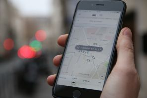 application uber sur iphone 6