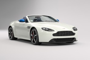 aston martin v8 vantage S Great Britain blanche