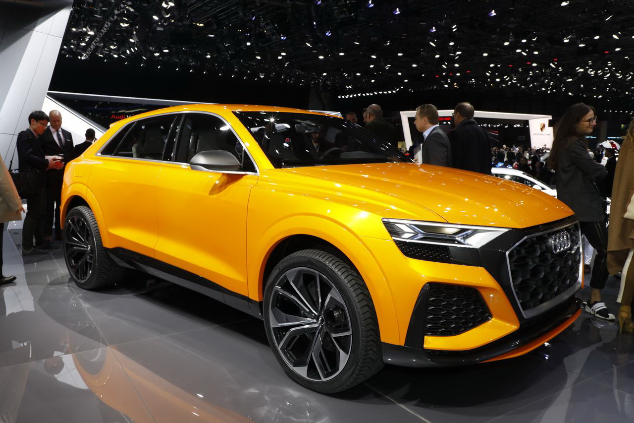 les meilleurs concept cars du salon de gen ve 2017 audi q8 sport concept l 39 argus. Black Bedroom Furniture Sets. Home Design Ideas