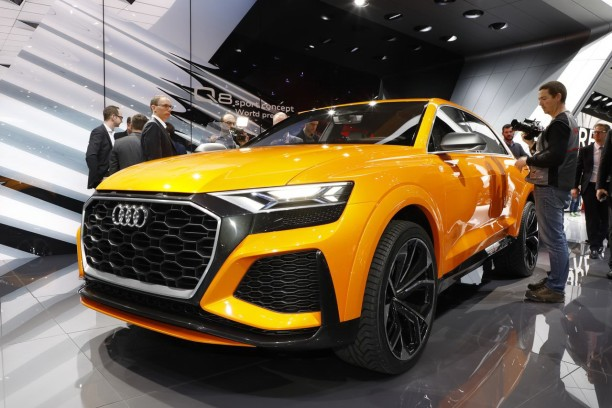 audi q8 sport concept un aper u du futur audi sq8 l 39 argus. Black Bedroom Furniture Sets. Home Design Ideas