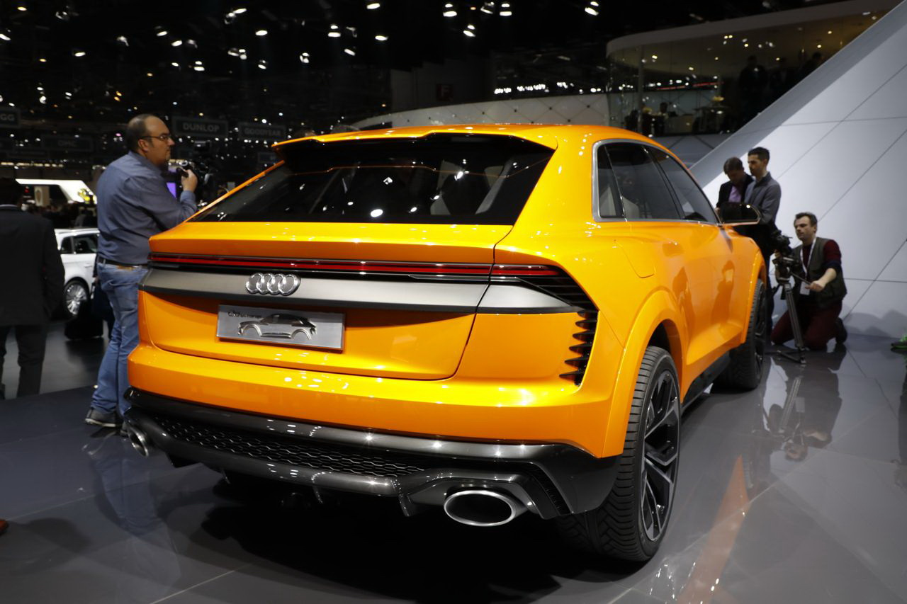 audi q8 sport concept un aper u du futur audi sq8 photo 4 l 39 argus. Black Bedroom Furniture Sets. Home Design Ideas