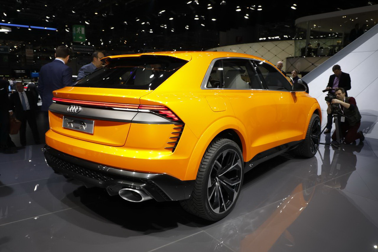 les nouveaux suv du salon de gen ve 2017 audi q8 sport. Black Bedroom Furniture Sets. Home Design Ideas