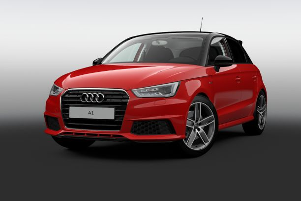 audi A1 S Edition rouge