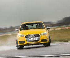 Audi S1 Quattro 2015 jaune drift