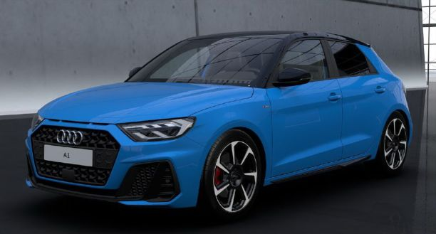 Audi A1 Turbo Blue Edition