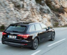 Le 2.0 TFSI 150 ch reste réservé à l'Audi A4 Berline. En essence, la gamme A4 break démarre donc à 190 ch et 42 300 € minimum.
