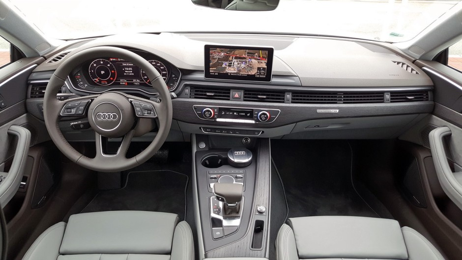 essai audi a5 2017 notre avis sur le v6 3 0 tdi 218 quattro photo 1 l 39 argus. Black Bedroom Furniture Sets. Home Design Ideas