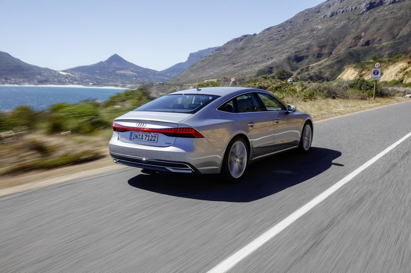 essai audi a7 sportback 2018 notre avis sur la nouvelle a7 50 tdi photo 2 l 39 argus. Black Bedroom Furniture Sets. Home Design Ideas
