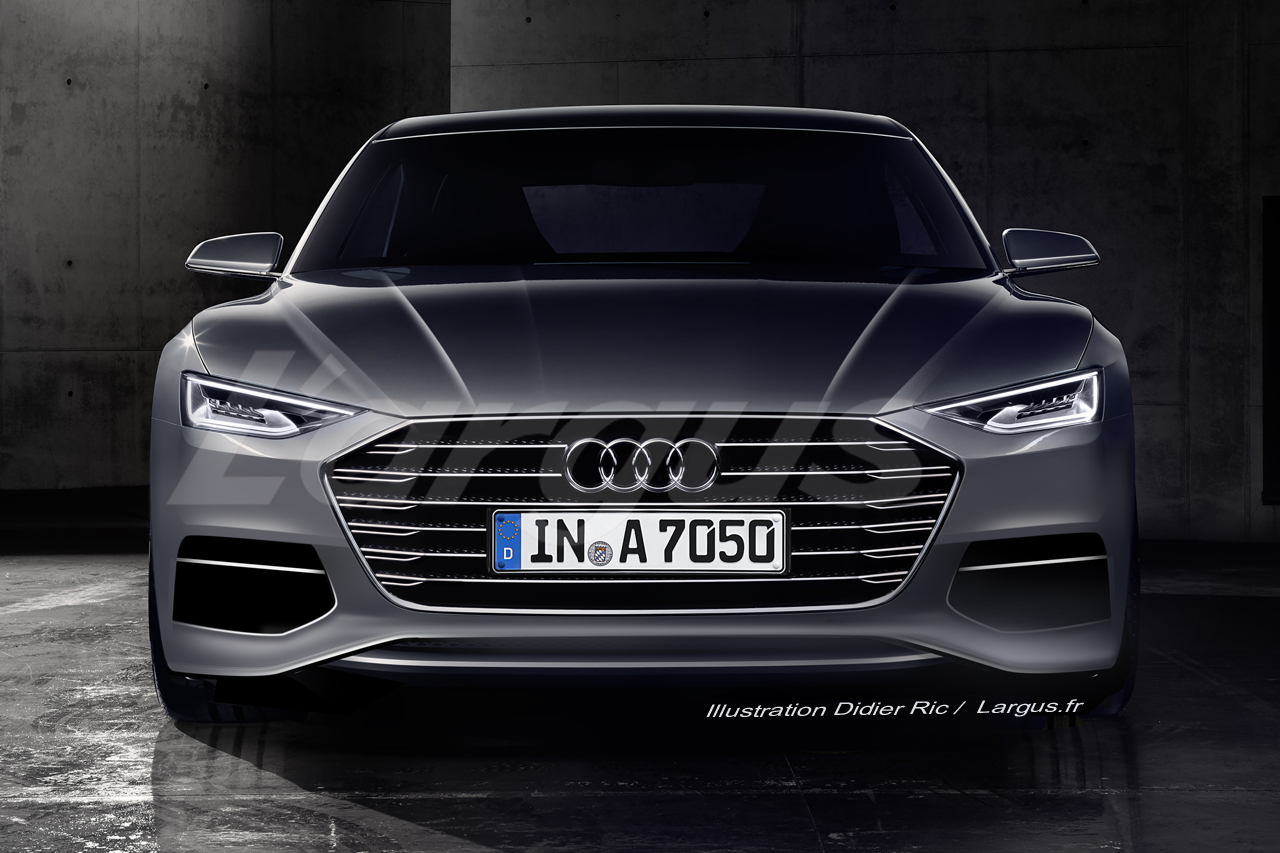 audi a7 sportback 2017 premi re apparition officielle. Black Bedroom Furniture Sets. Home Design Ideas