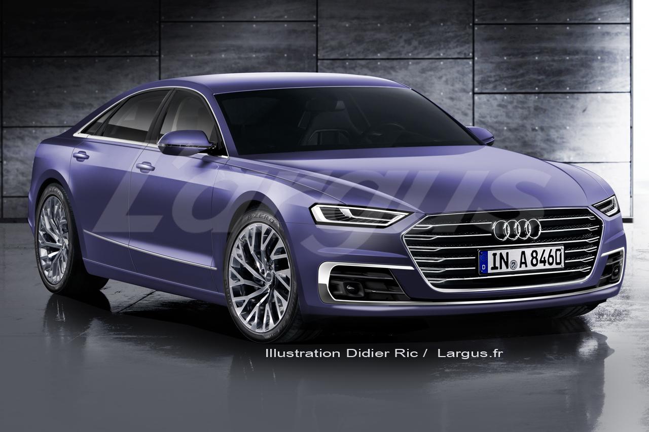 Scoop Audi A8 (2017) : tous les secrets de la nouvelle A8 ...