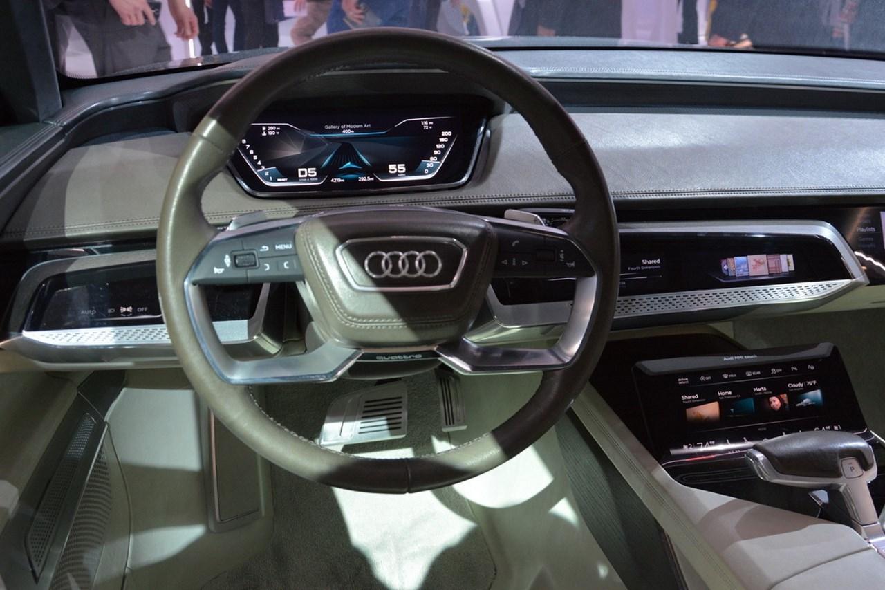 Audi une future a9 e tron lectrique pour 2019 photo for Future interieur