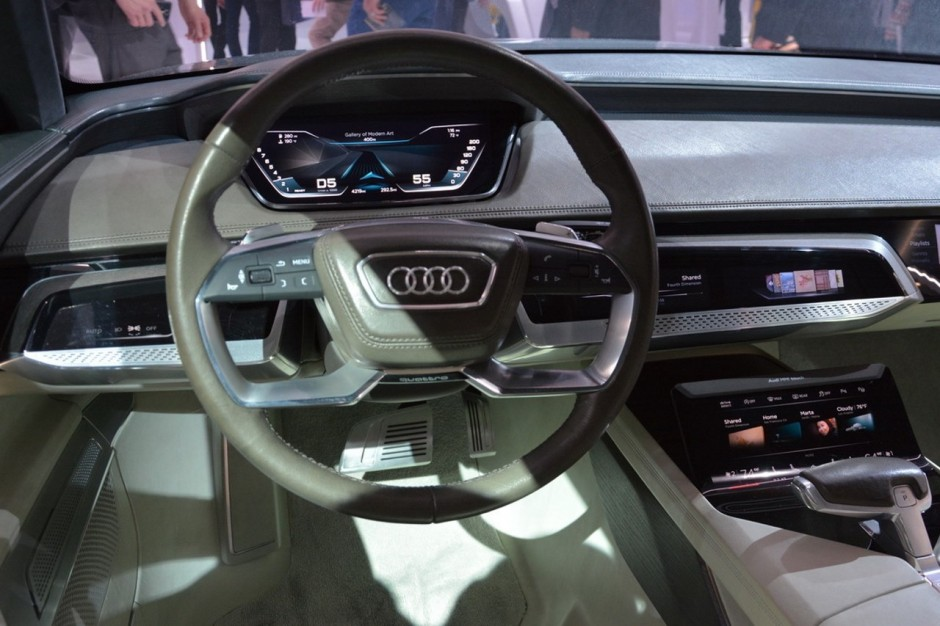 audi une future a9 e tron lectrique pour 2019 photo 2 l 39 argus. Black Bedroom Furniture Sets. Home Design Ideas