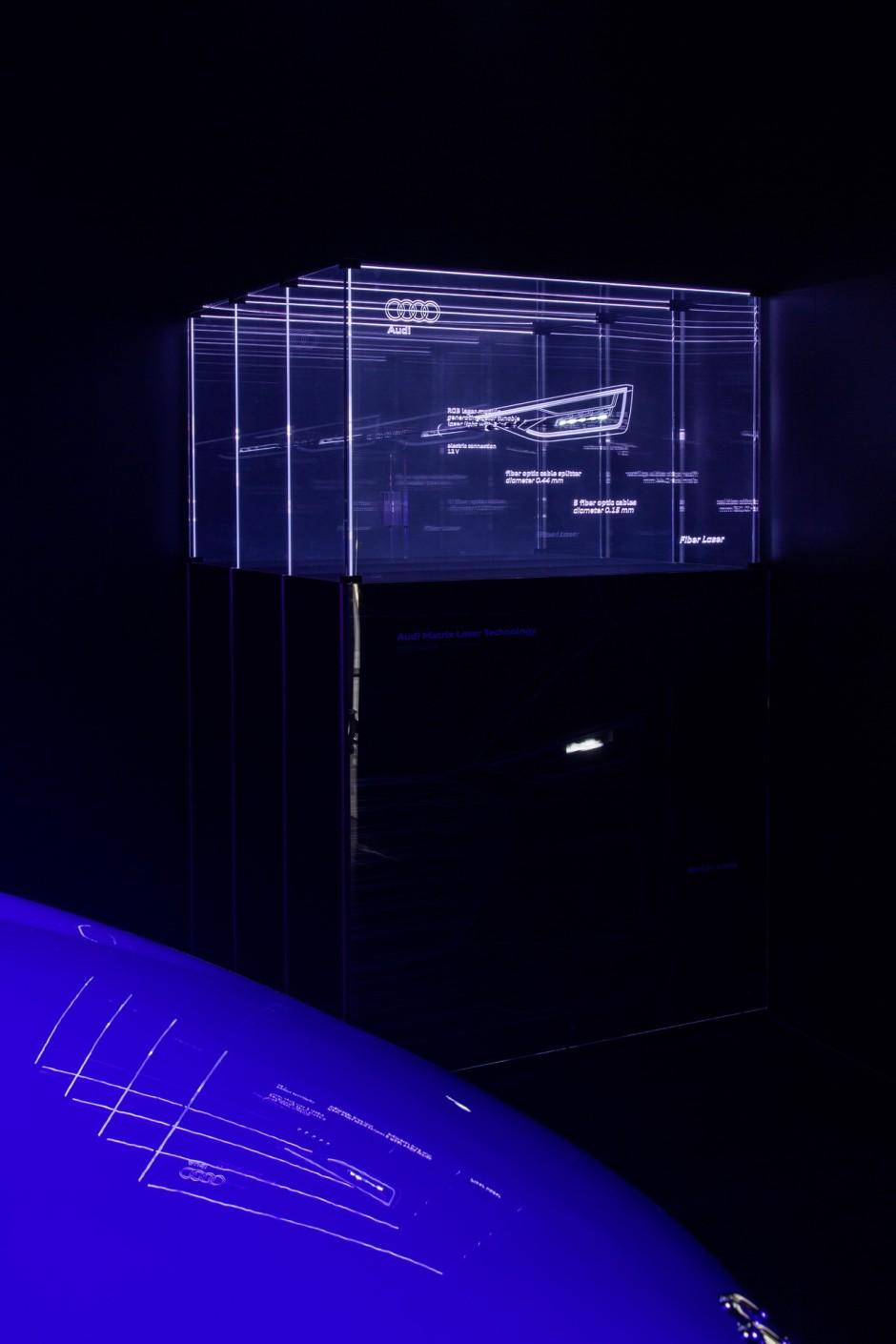 audi met en lumi re l 39 clairage laser matriciel photo 5 l 39 argus. Black Bedroom Furniture Sets. Home Design Ideas