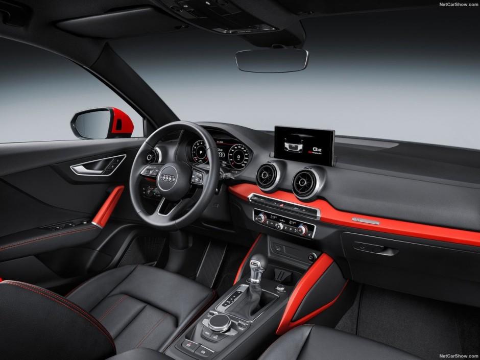 Audi q2 s line le nouveau q2 dans sa version sport for Interieur q2