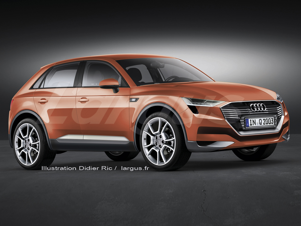 Scoop le futur audi q2 sera d voil au salon de gen ve for Salon de la photo 2016