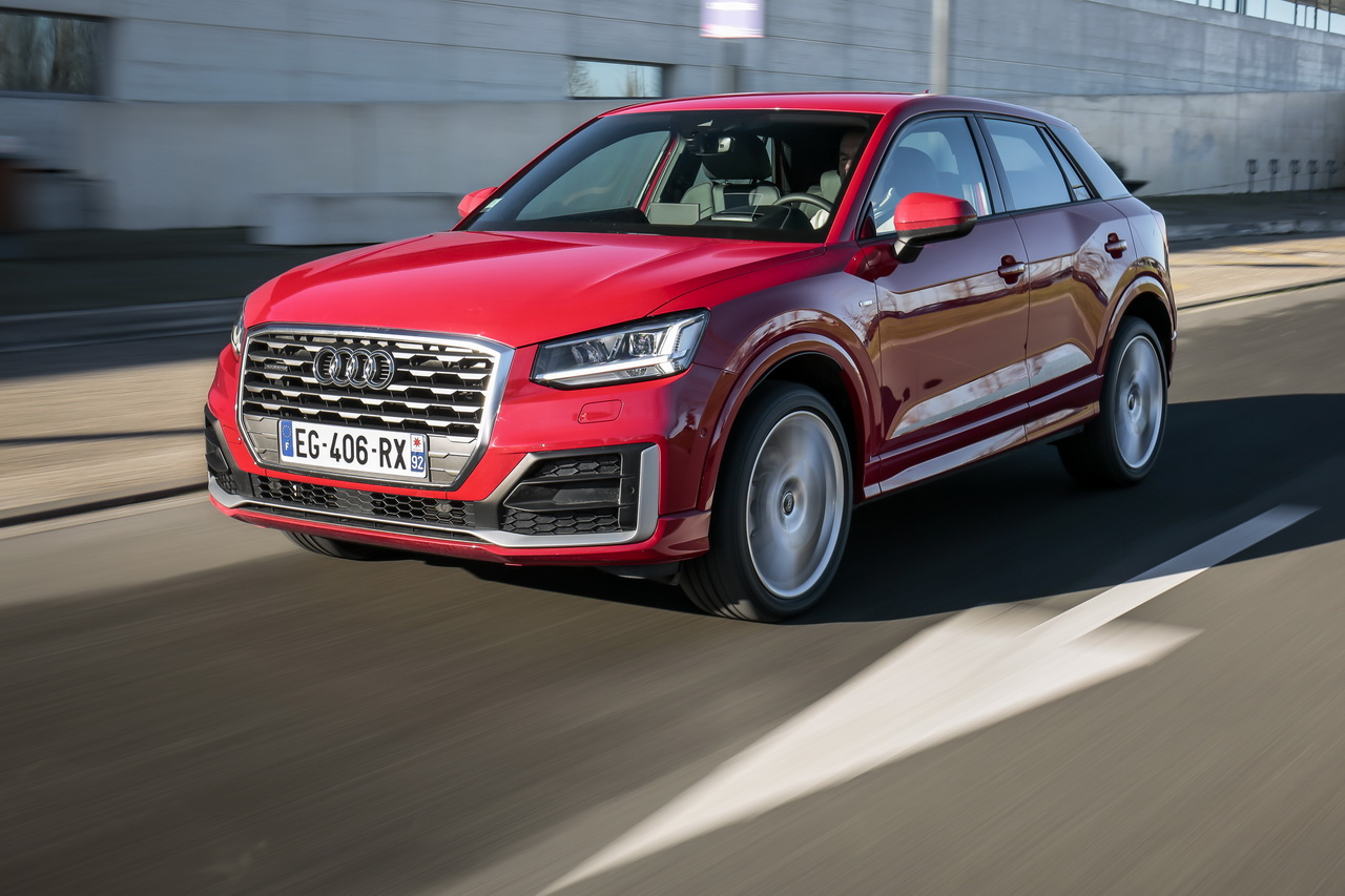 essai audi q2 tdi 190 le test du q2 diesel photo 1 l 39 argus. Black Bedroom Furniture Sets. Home Design Ideas