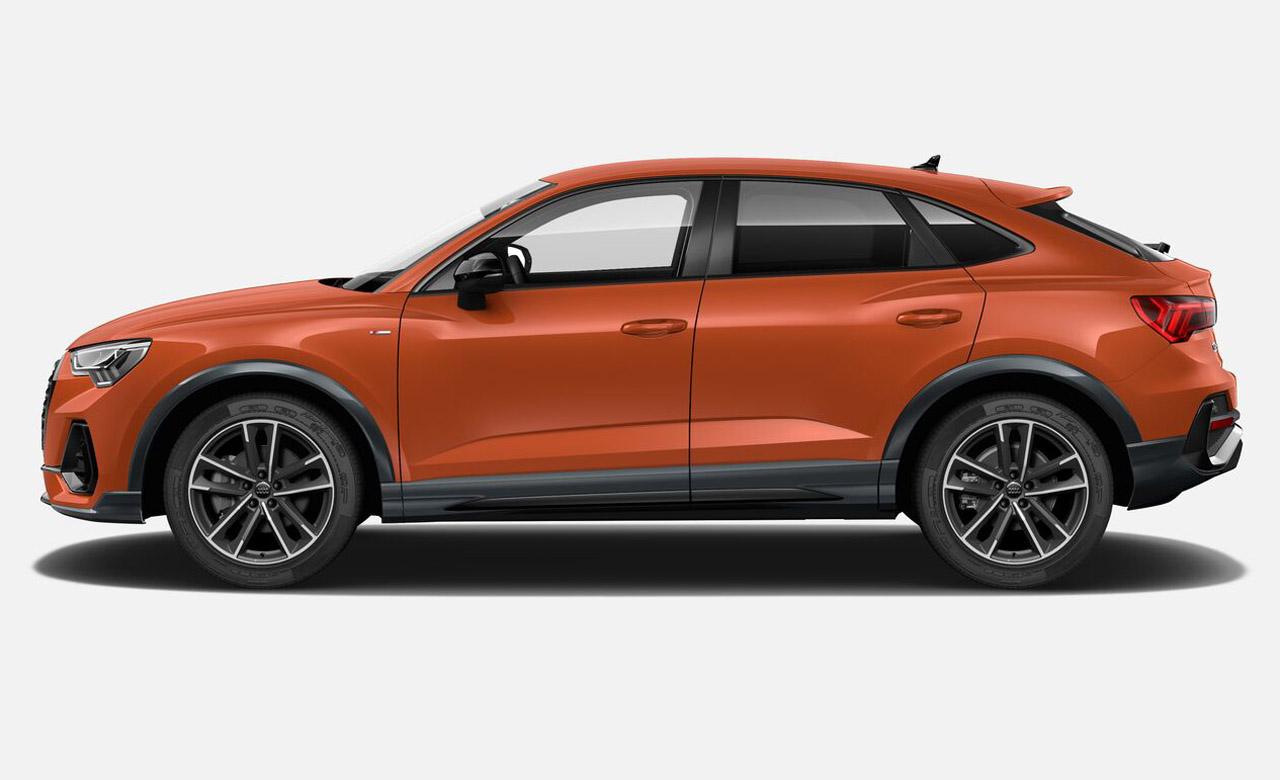 Audi Q3 Et Q3 Sportback Une Nouvelle Serie Limitee S Edition