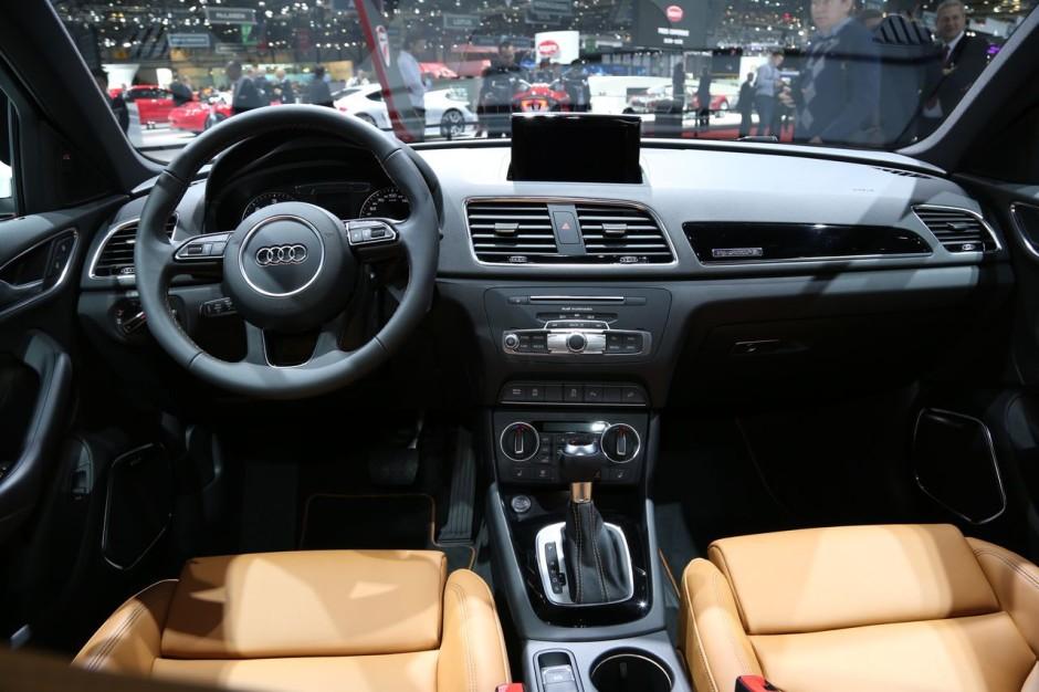 Audi q3 restyl le discret du salon de gen ve photo 2 for Salon discret
