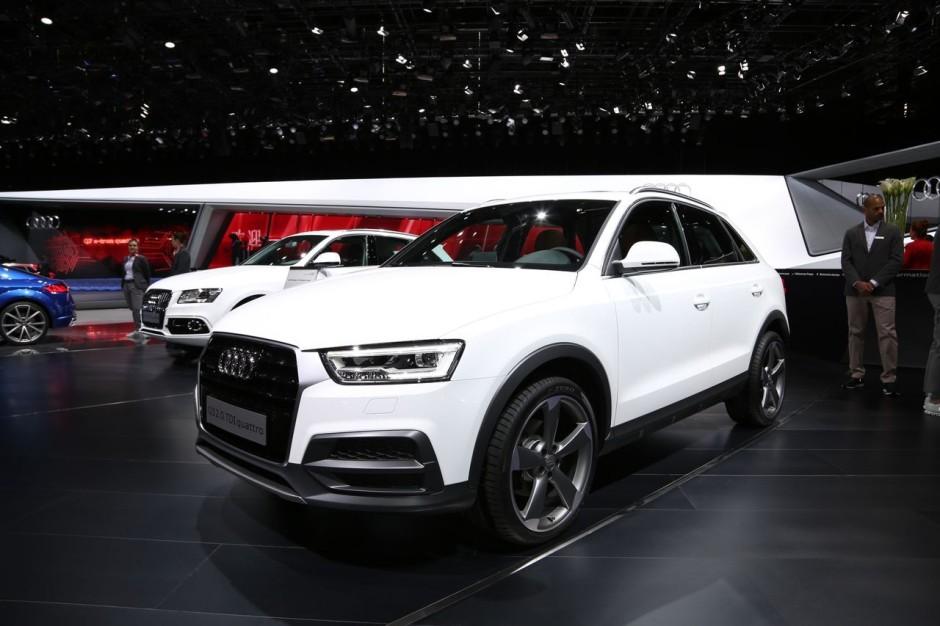Audi q3 restyl le discret du salon de gen ve photo 3 for Salon discret