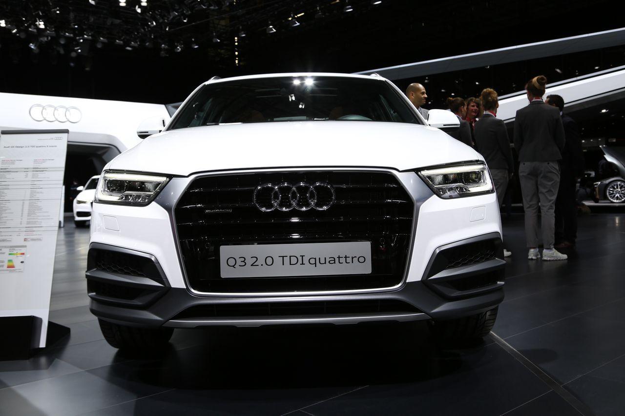 Audi q3 restyl le discret du salon de gen ve photo 4 - Salon du bebe geneve ...