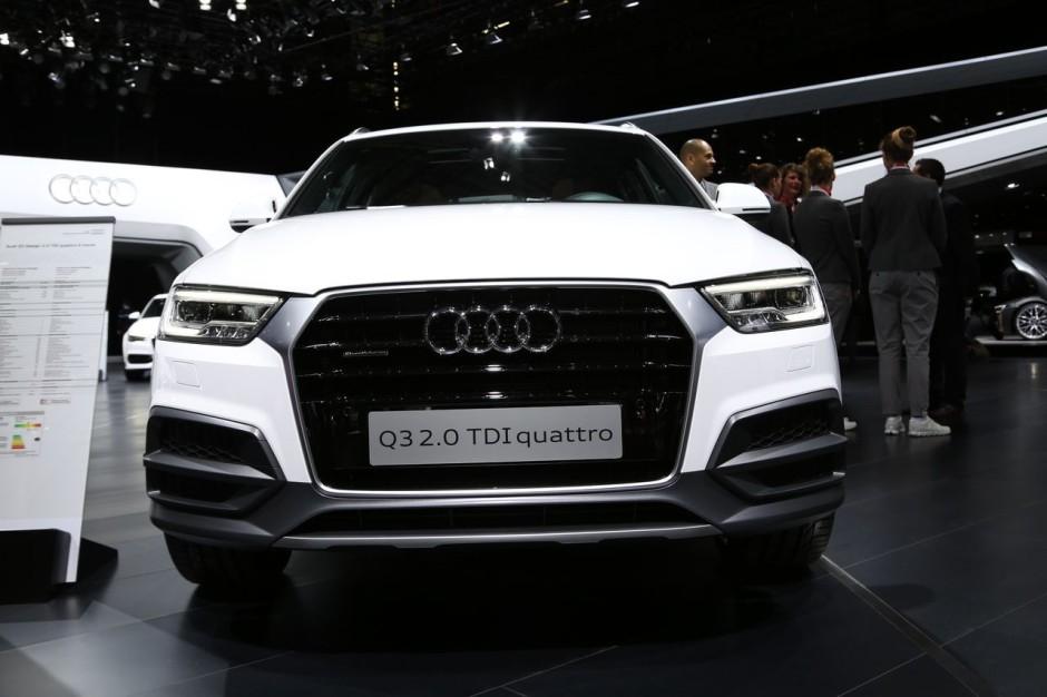 Audi q3 restyl le discret du salon de gen ve photo 4 for Salon discret
